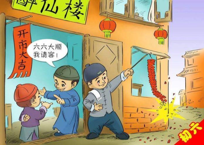 不懂過年在幹嘛的人!看漫畫學初一到十五的華人過年習俗!
