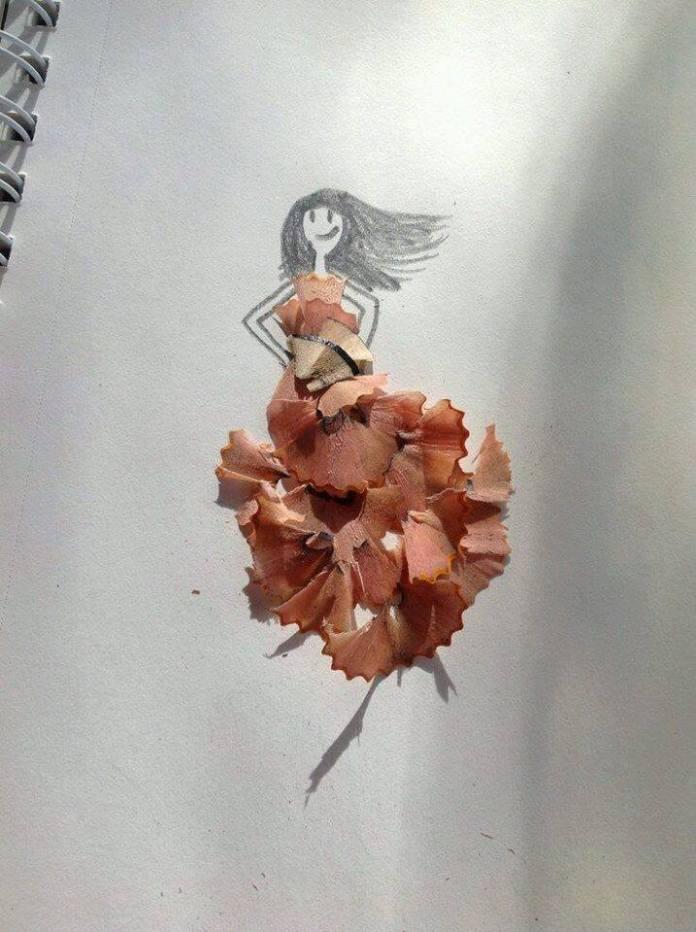 簡單的鉛筆碎做出爆你眼球的效果!
