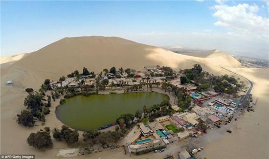 秘魯乾旱沙漠中的綠洲絕非海市蜃樓,而是一個夢幻小鎮,看完想住進去! 4
