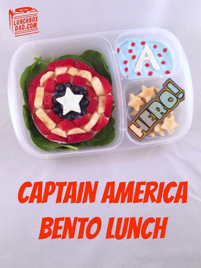 加州一位父親為女兒所做的午餐,讓你看完食慾大增!