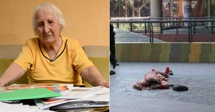 不慬得拒絕「慈善組織」,93歲老奶奶被逼跳樓自殺!