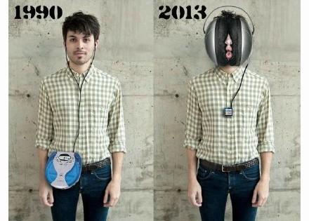 從前和現在的巨大變大,究竟是進步還是毀滅