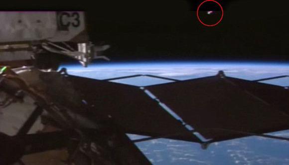 國際空間站周圍再現疑似UFO