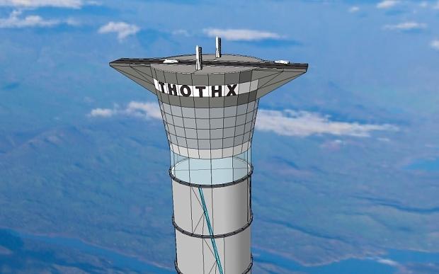 科學家發明可充氣太空電梯:高度可達20千米