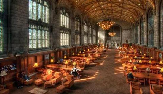 全美最令人心曠神怡的大學校園自習聖地