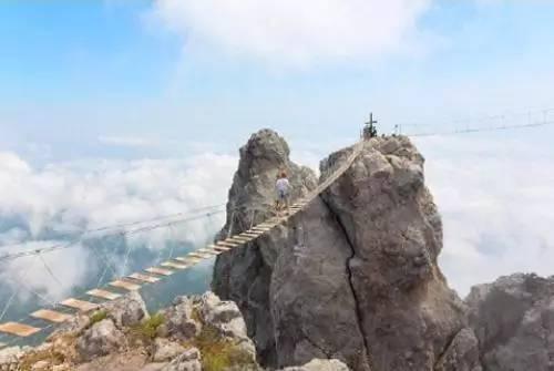 世界上这些恐怖的桥,你敢走么?