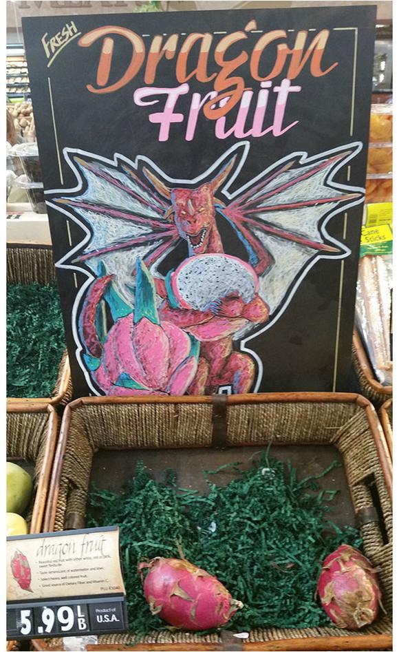這年頭連賣水果都要有創意,