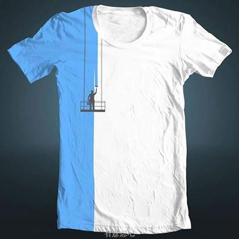 夏天穿這樣的T恤出去,回頭率一定特高!