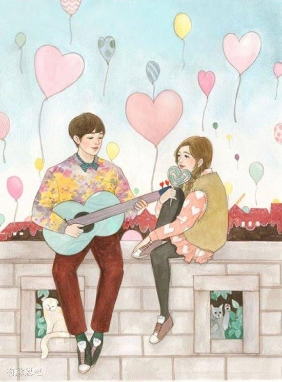 據說好的愛情是這樣,希望你能擁有它!