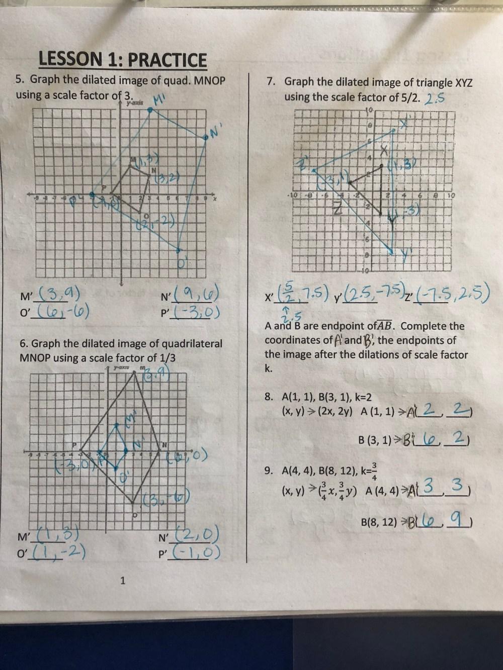 medium resolution of Transformations - Ms. Tucker's Math Class