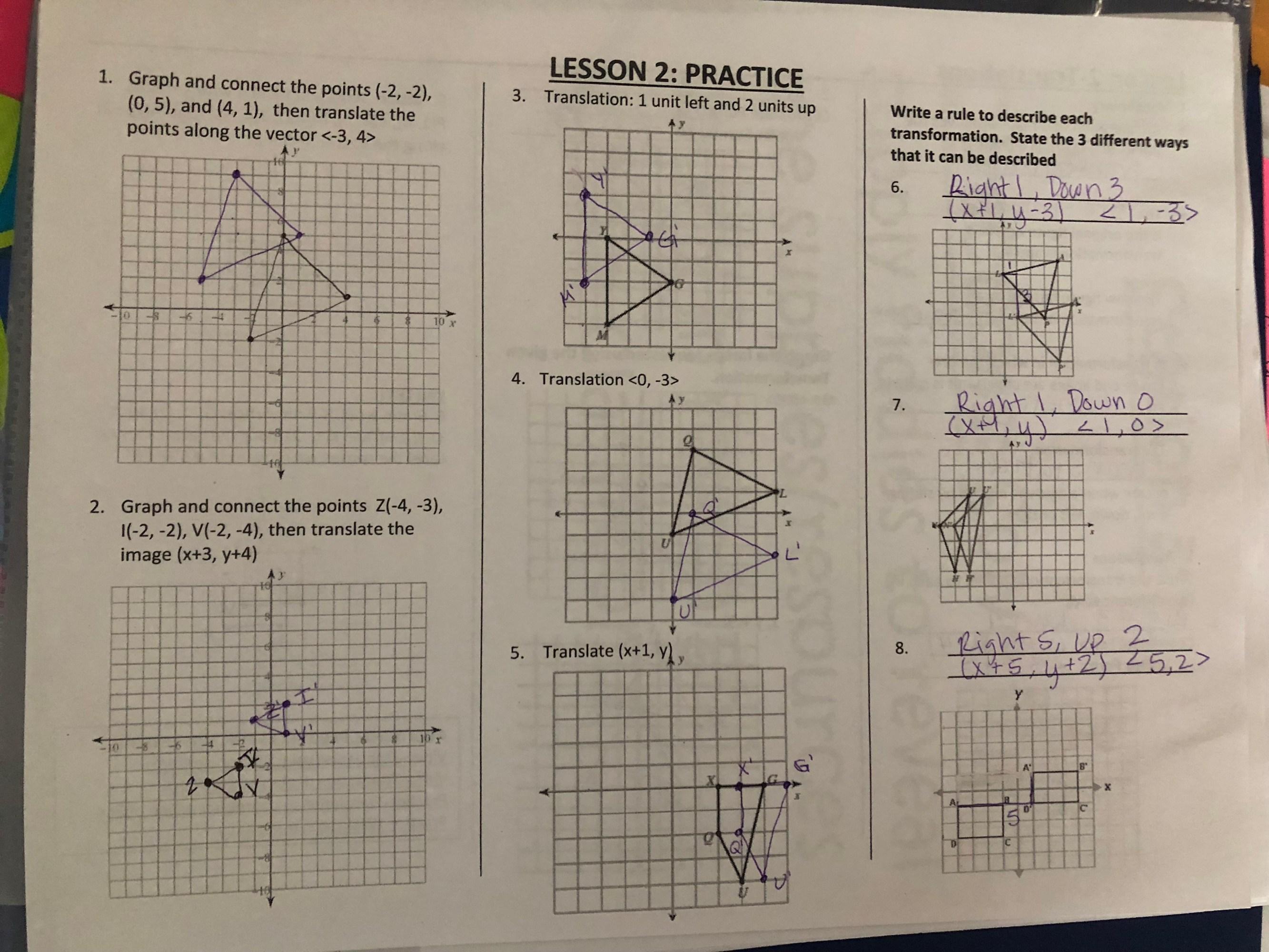hight resolution of Transformations - Ms. Tucker's Math Class