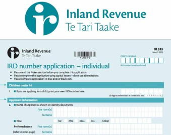 IRD Number - Applying for IRD Number Online   my IRD Number