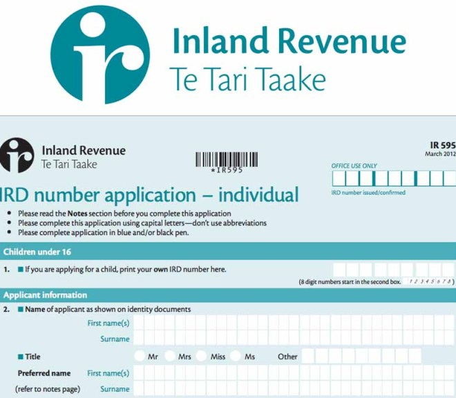 IRD Number – Applying for IRD Number Online | my IRD Number