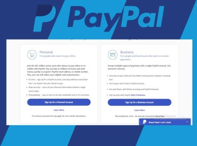 PayPal Account Sign Up - Create a PayPal Account | PayPal Registration