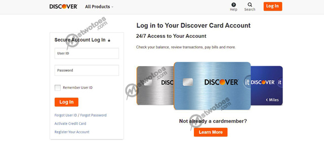 Discover Bill Pay – How to Make an Online Payment