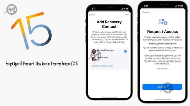 Forgot Apple ID Password - New Account Recovery Feature iOS 15