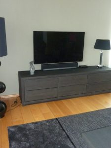 Televisiedressoir M Style interieur