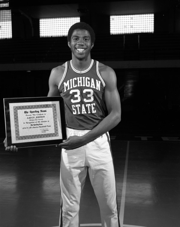 Earvin Magic Johnson Archives MSU