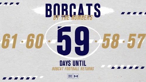 small resolution of bobcats by the numbers bobcat football returns in 59 days