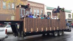 Pi Phi and Kappa's Homecoming Float