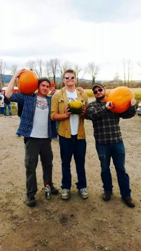 Sigma Nu Carved Pumpkins!