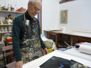 Former Moorhead State University art professor Timothy Ray died Feb. 9 at his home. He taught taught from 1970 to 1997 and continued to produce artthroughout his four-year battle with cancer. Two alumni have started a scholarship for art students in his honor. SUBMITTED PHOTO.