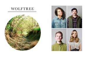 The four best friends started a new magazine called Wolftree.