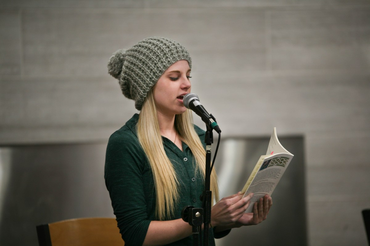 Open mic, open mind: Red Weather hosts poetry slam