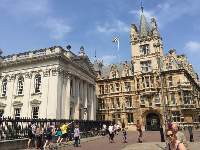 Touring the Universify of Cambridge