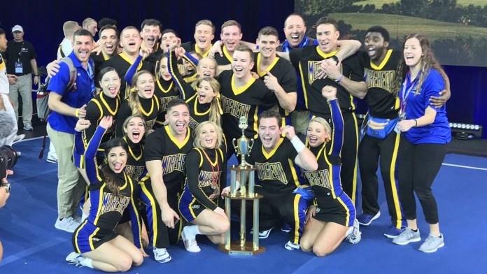 MSU Coed Cheer Team