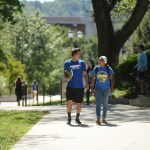 MSu-students on campus