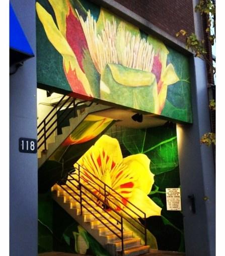 Tulip Popular Mural, Lexington, Kentucky.