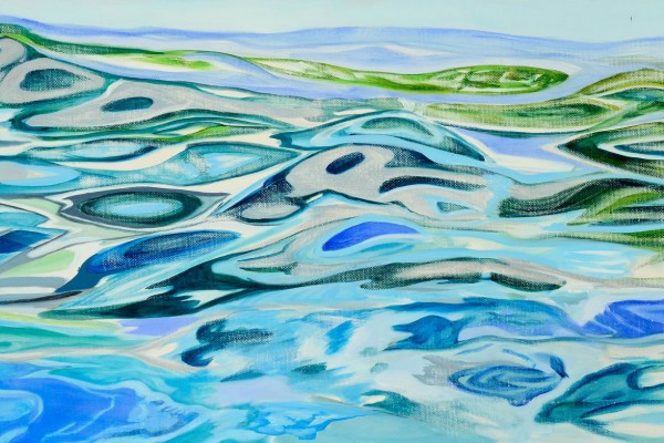 2010, oil on canvas, 12 x 24 inches
