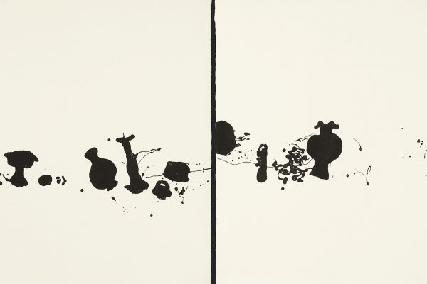 Diptych with 2 etchings,2012, 29 1/2 x 37 1/2 inches each