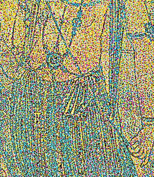 2016, Acrylic on canvas, 86.5 x 27.5in   220 x 70cm