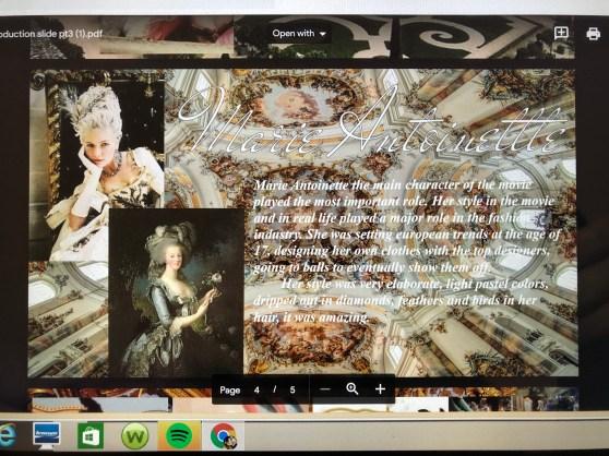 Symphony A - 'Marie Antoinette'