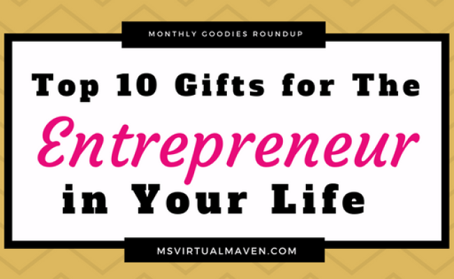 Top 10 Holiday Gifts For The Busy Entrepreneur In Your Life