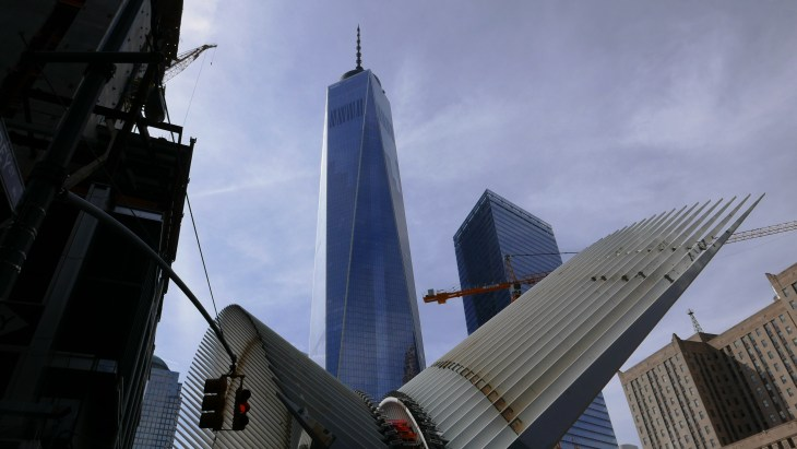 Freedom Tower Rises From the Construction 2015