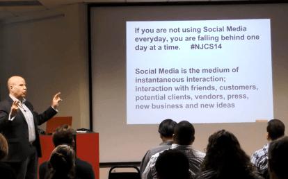 Matt Sweetwood talking @ Connect Work Thrive