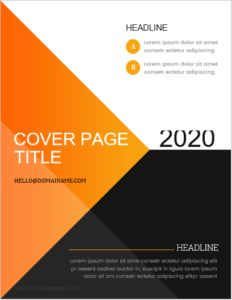 How To Create A Title Page In Word : create, title, Design, Portfolio, Cover, Templates
