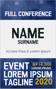 5 Best Event Id Badge Templates For Ms Word Microsoft Word Id