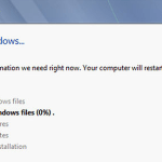 How to install windows 7 ?