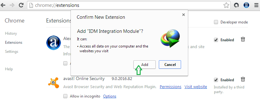 IDM extension 3
