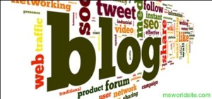 What is blog and what is blogging ?