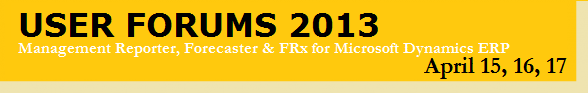 User Forums 2013