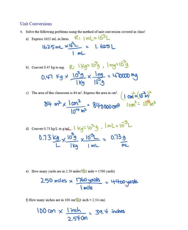Solution Stoichiometry Worksheet Answers