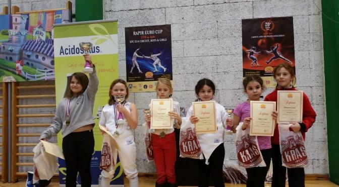 20. RAPIR KUP – Zagreb – 18./19.02.2017 – Day 1 Epee – Mač – Rezultati – Results