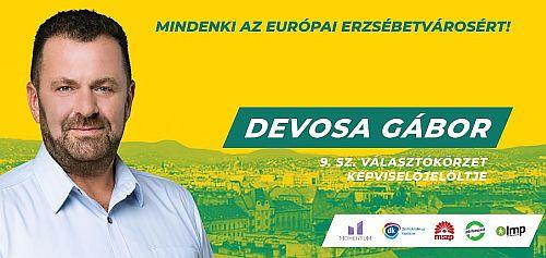 Képviselő-jelöltek: Devosa Gábor