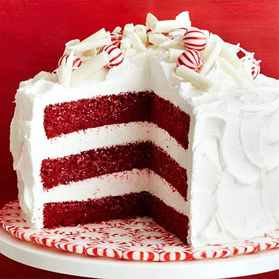 Holiday Red Velvet Cake Recipe