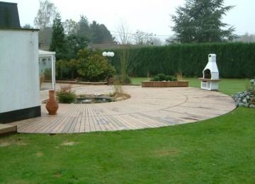 Salon De Jardin Sur Terrasse En Bois | Album Cote Jardin 2009 Arbor ...